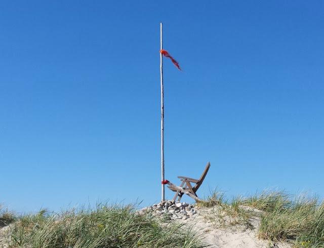 Aus unserem Dänemark-Urlaub: Wunderschöne Ausflugsziele rund um Houstrup. Teil 1: Strände, Häfen und einzigartige Natur. Hier: Gammelgab Strand.