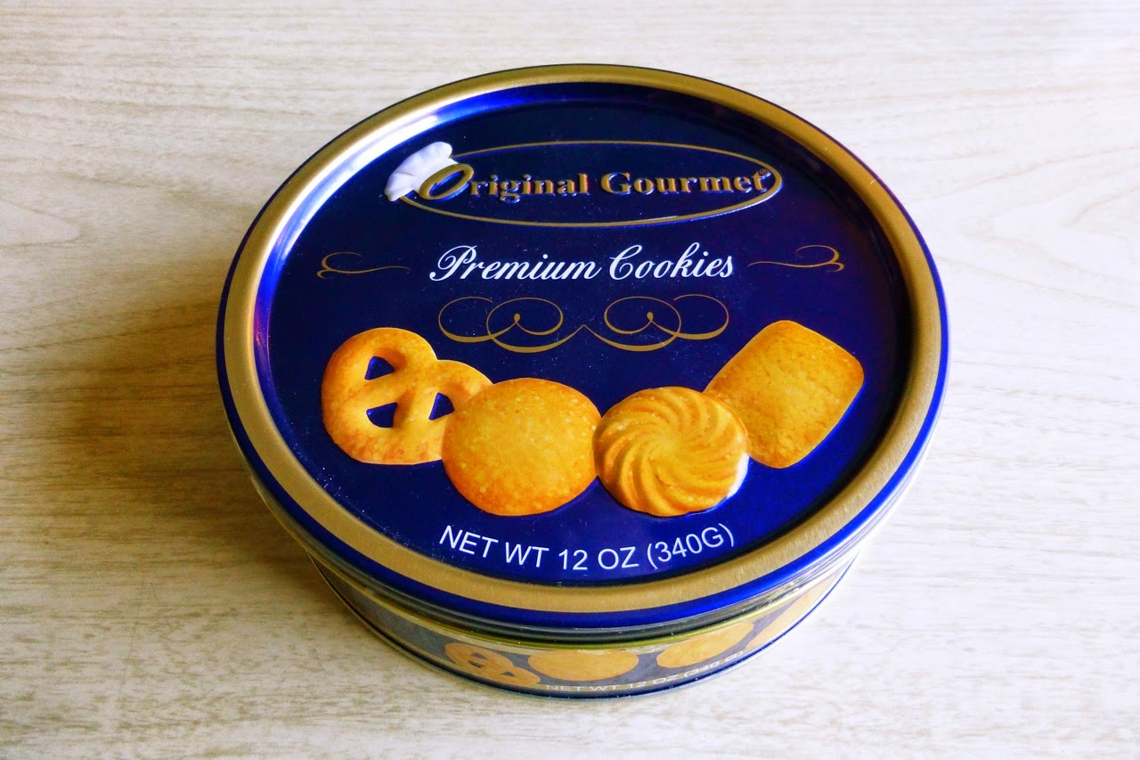 Danish butter cookies, made in China