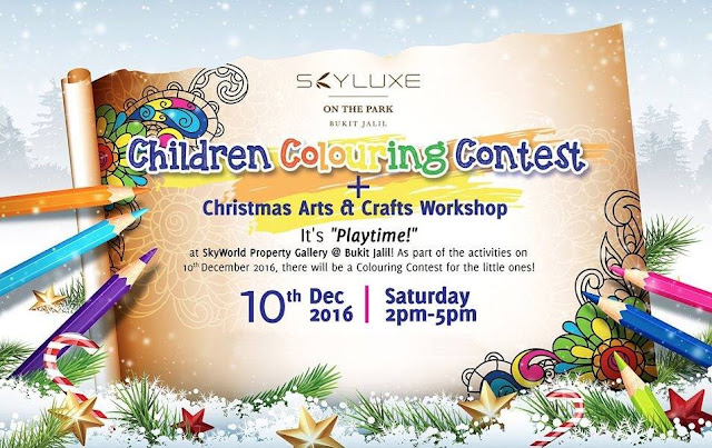 SkyLuxe On The Park: Bring your Children Colouring Contest with ...