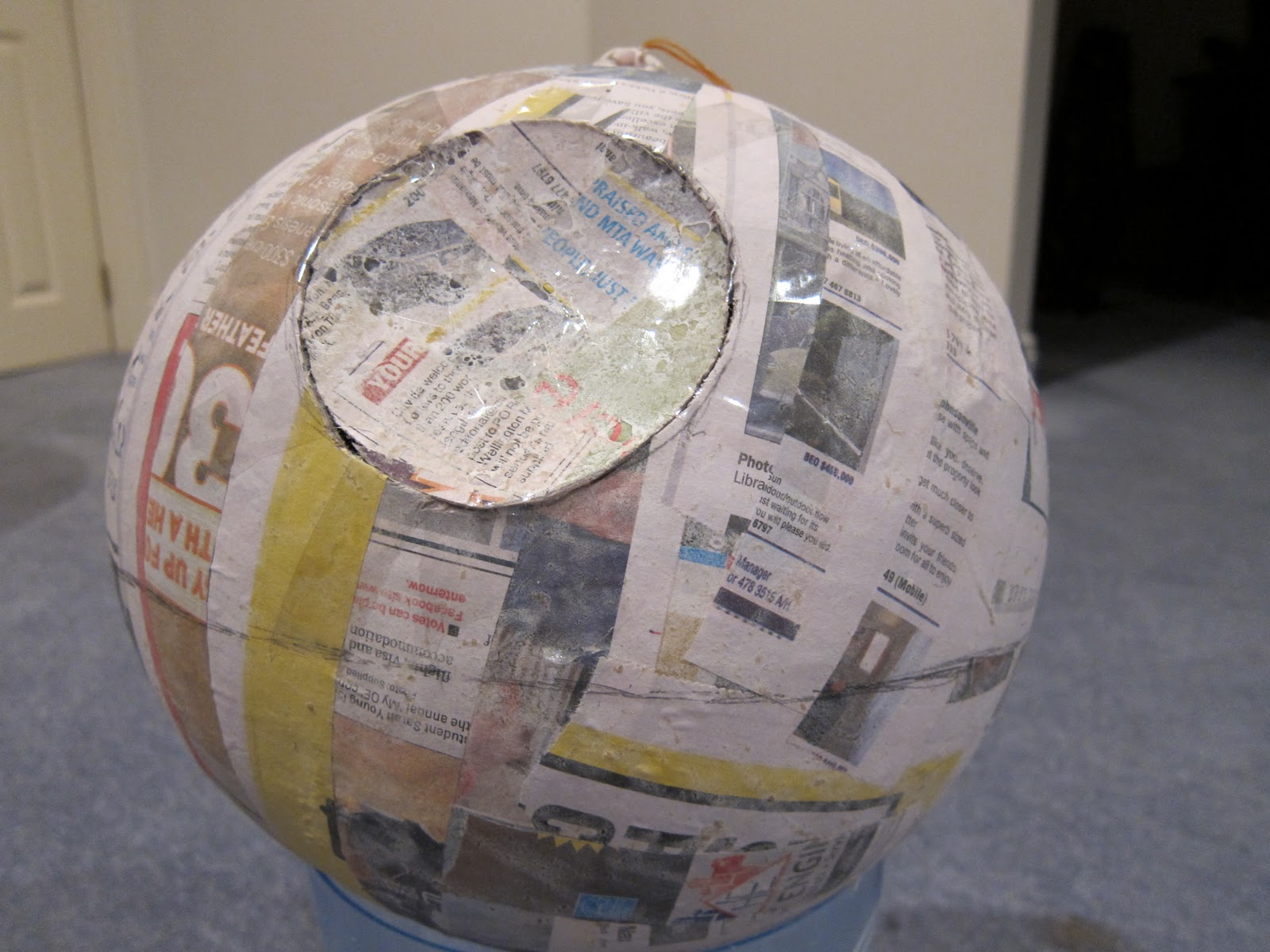 How To Make A Death Star Pinata The Adventures Of Mnms