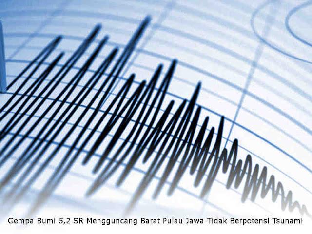 Gempa Bumi 5,2 SR Mengguncang Banten, Jakarta dan Jawa Barat, Tidak Berpotensi Tsunami