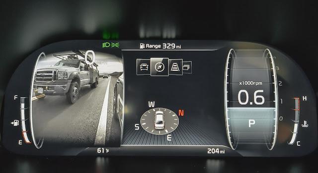 2019 Kia K900 full LCD meter display