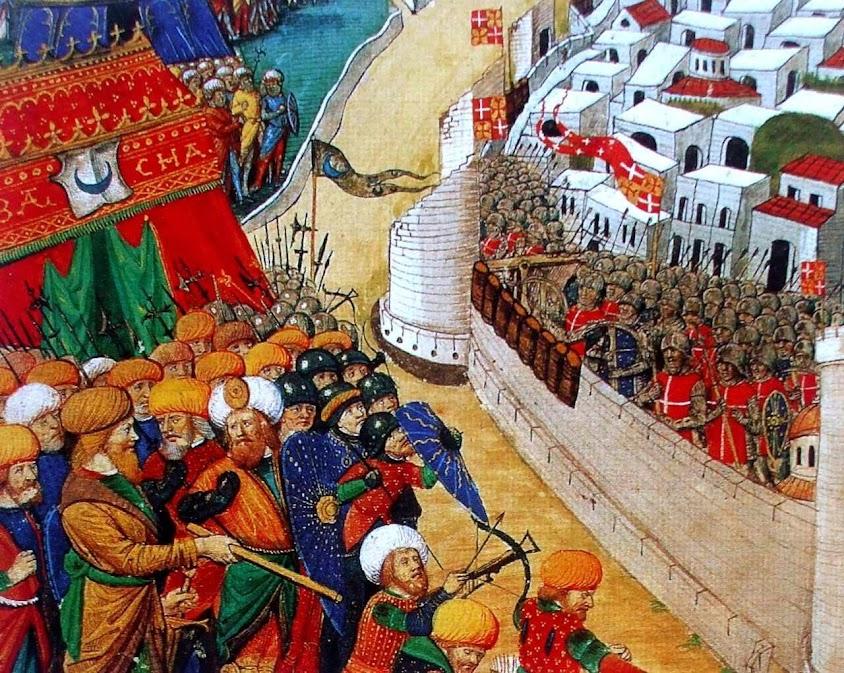 Sitio de Rodas em 1522
