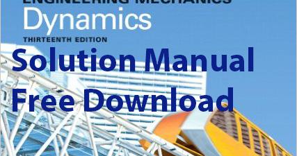 Engineering Mechanics Statics And Dynamics 14th Edition Pdf
