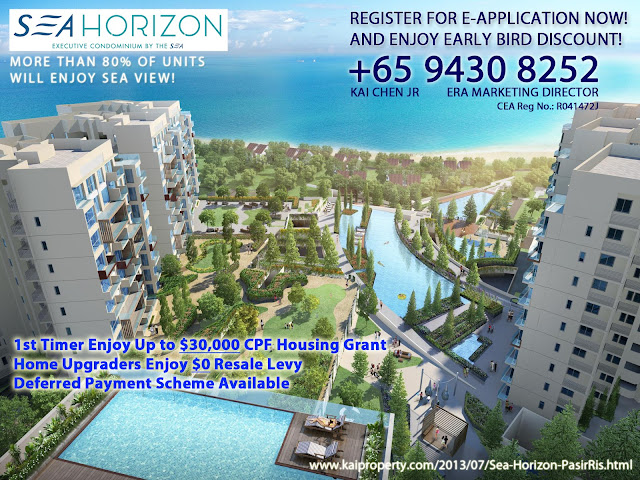 Sea Horizon - Pasir Ris