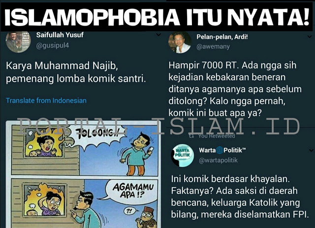 Unggah Komik Provokatif, Wagub Jatim Dikeroyok Netizen