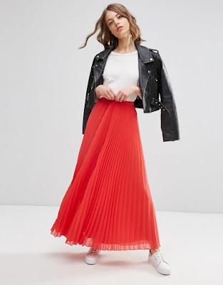 faldas largas de moda como hacerlas
