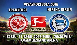 Prediksi Bola Frankfurt vs Hertha Berlin 21 April 2018