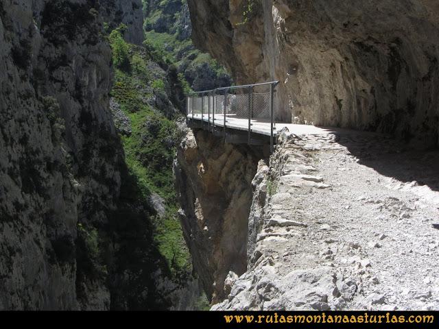 Ruta del Cares: Nuevo puente artificial