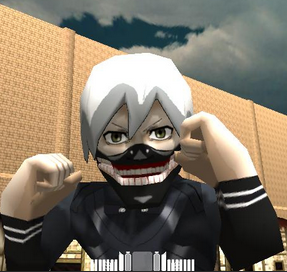 Ken Kaneki Eren Titan Skin AOTTG -Attack On Titan Tribute Game Mod And Skin