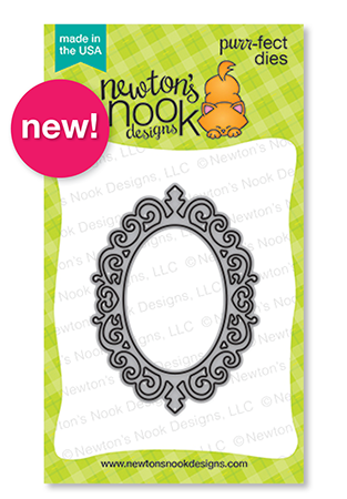 Cameo Frame Die Set by Newton's Nook Designs #newtonsnook #halloween