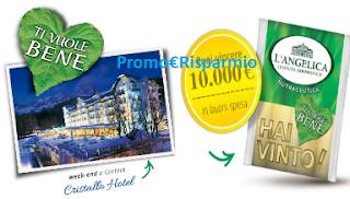 Logo Vinci 10.000 euro in buoni spesa e un soggiorno a Cortina