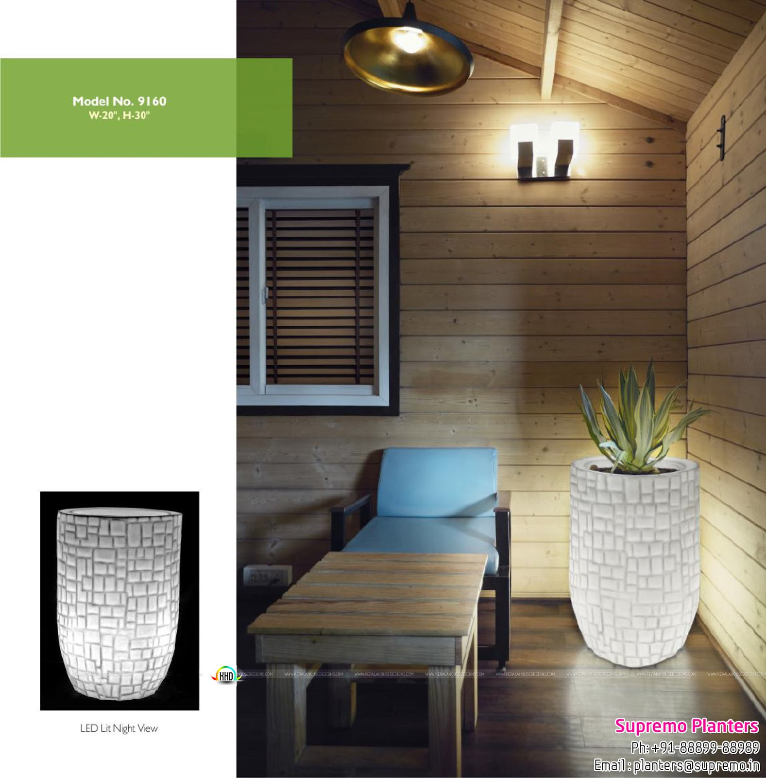 Lifestyle Products That Offers Planters And LED Light