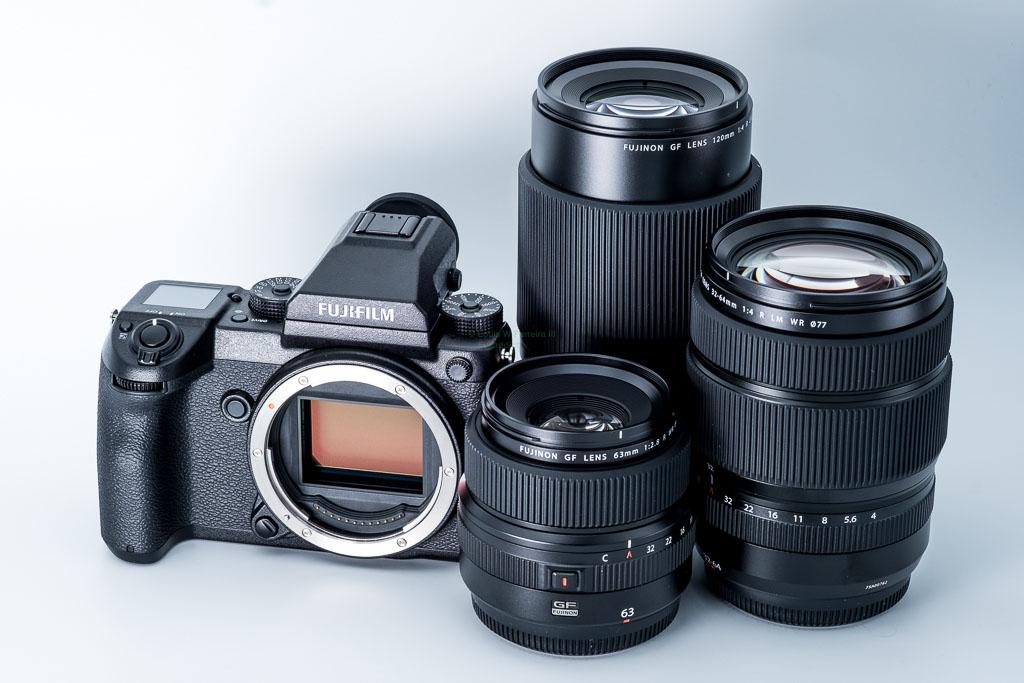 Fujifilm GFX 50s с оптикой