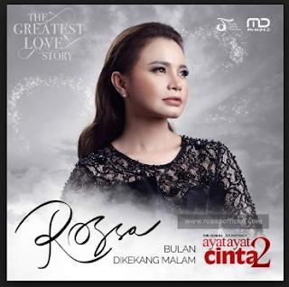 Rossa, Lagu Pop, 2018,Download Lagu Rossa - Bulan Dikekang Malam Mp3