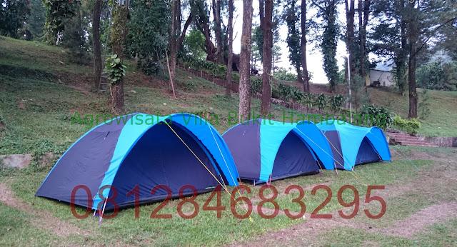 Lokasi Camp Sekolah kawasan Wana Wisata Hambalang Outbound