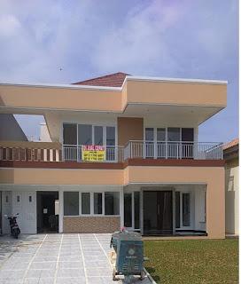 Rp.5.500.000.000 Dijual Rumah Baru Type Minimalis Depan Taman Di Cluster Exclusive Sierra Madre Sentul City (code:198)