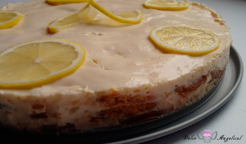 Deliciosa carlota de limón fácil
