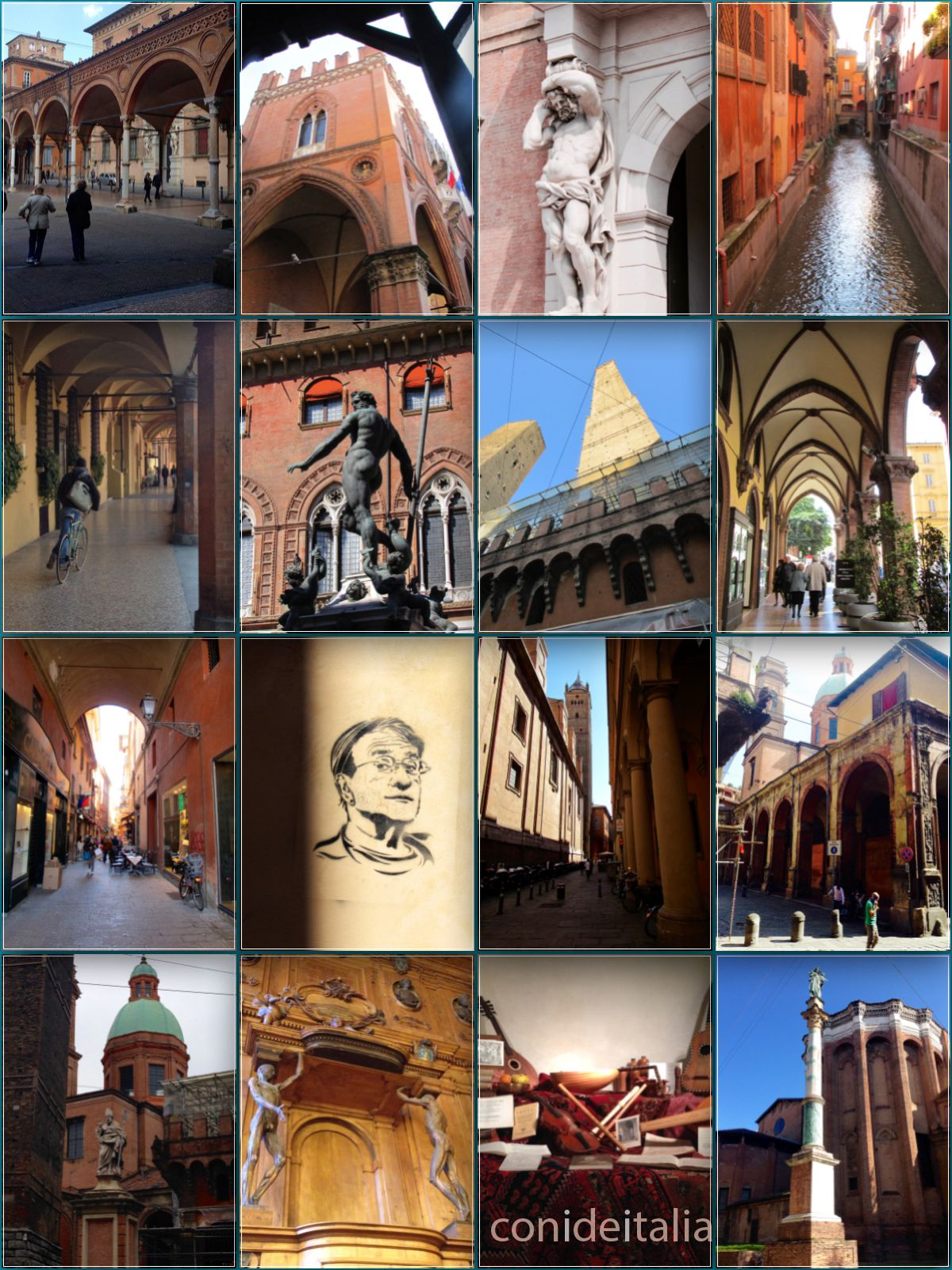 Hacer en Bolonia experiencias en la ciudad roja