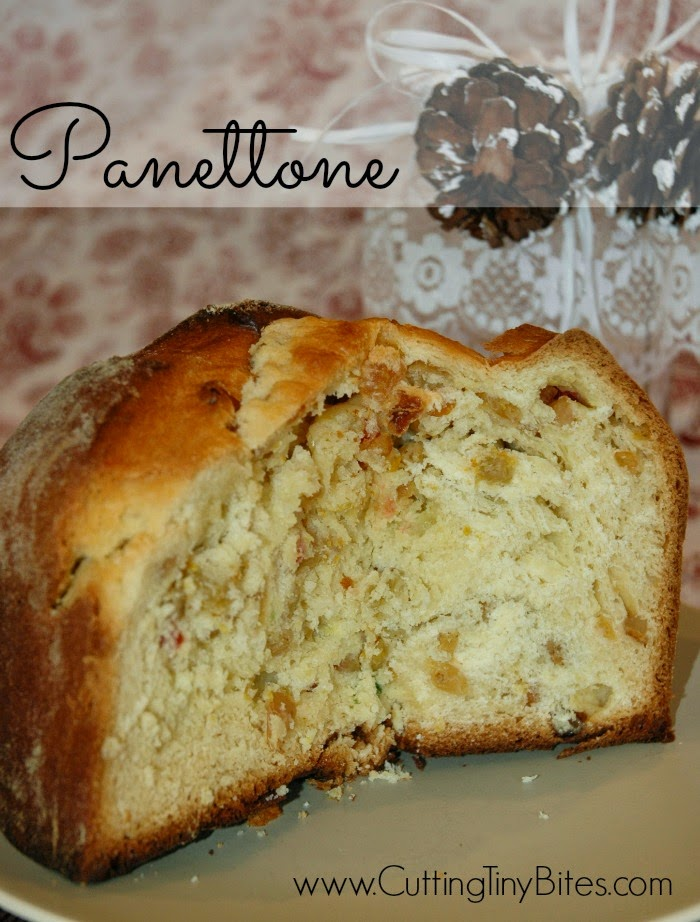 Teaching Kids About an Italian Christmas by baking a panettone together.