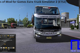 Types of Mod Types for Euro Truck Simulator 2 Games (ETS2)