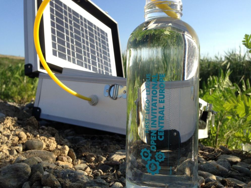 Solar-Powered WatCase Filter Transforms Any Water Source into a Drinkable One!