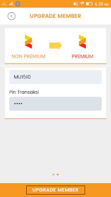 cara upgrade premium di aplikasi zakpay