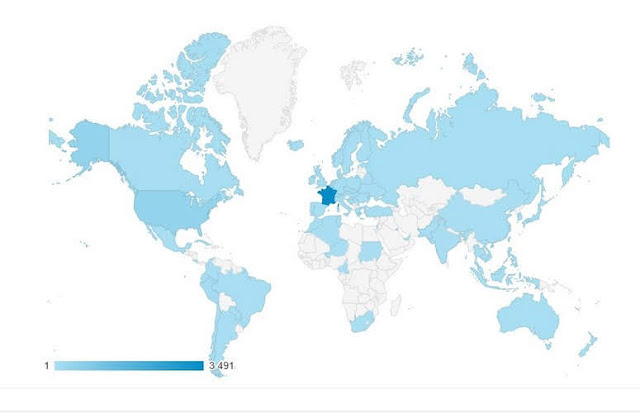 Rony la maquette: la carte du monde par pays