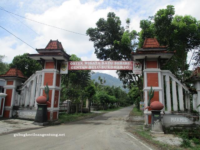 gerbang batu seribu