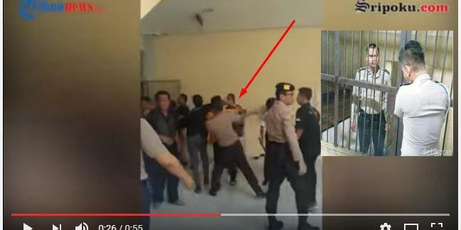 [Vidio] Polisi Pemukul Mahasiswa UNSRI Akhirnya Ditahan