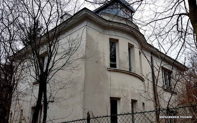 Warszawa Warsaw Mokotów Mokotow ulice Mokotowa architektura willa