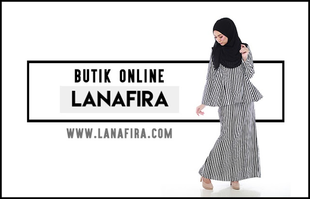 Bergaya dengan Pakaian Muslimah dari Butik Online Lanafira