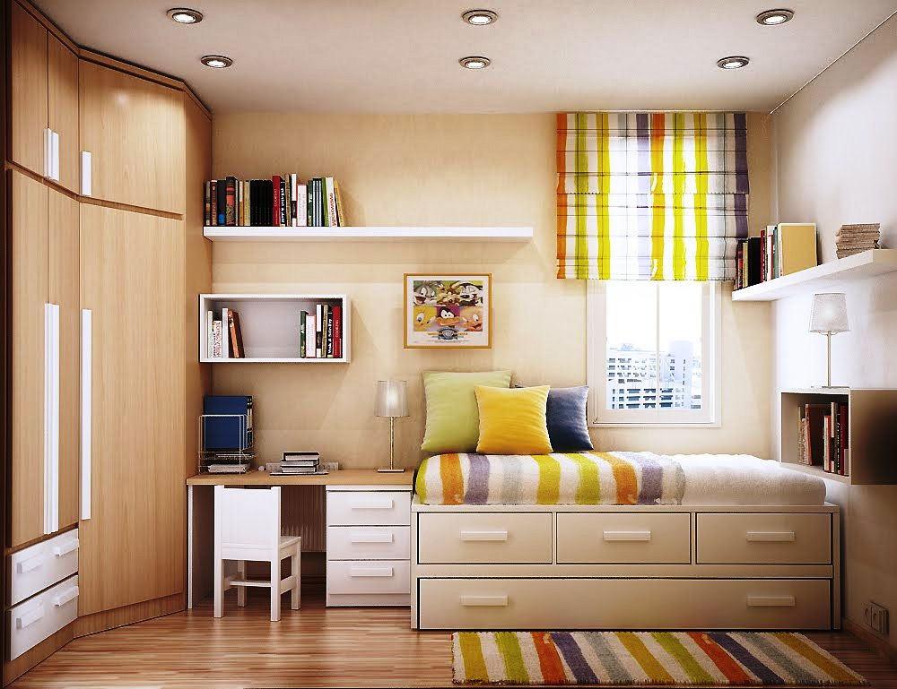 Desain Kamar Tidur Minimalis Modern Ukuran 3x3
