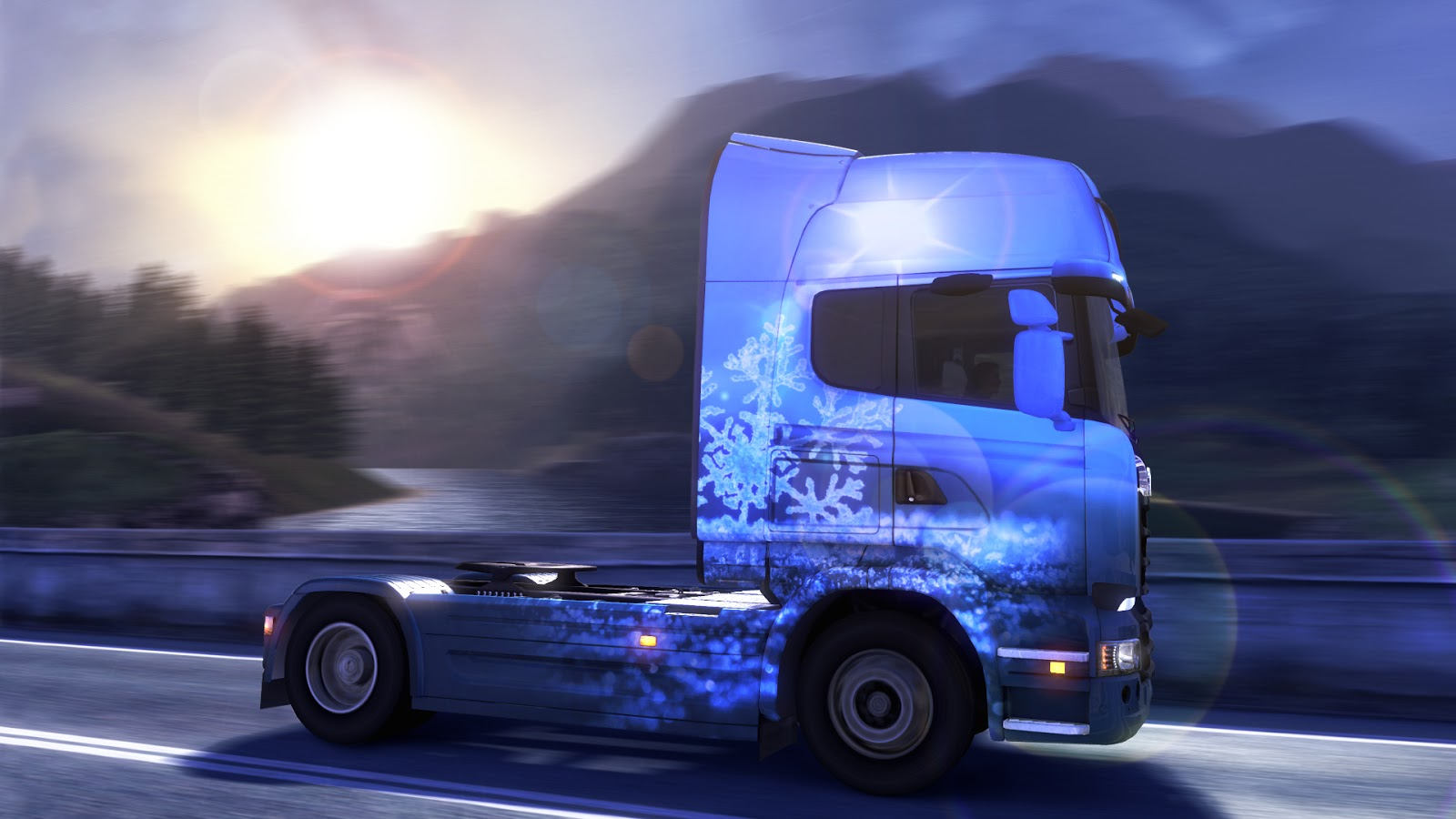 Euro Truck Simulator 2 - Ice Cold Paint Jobs Pack Download
