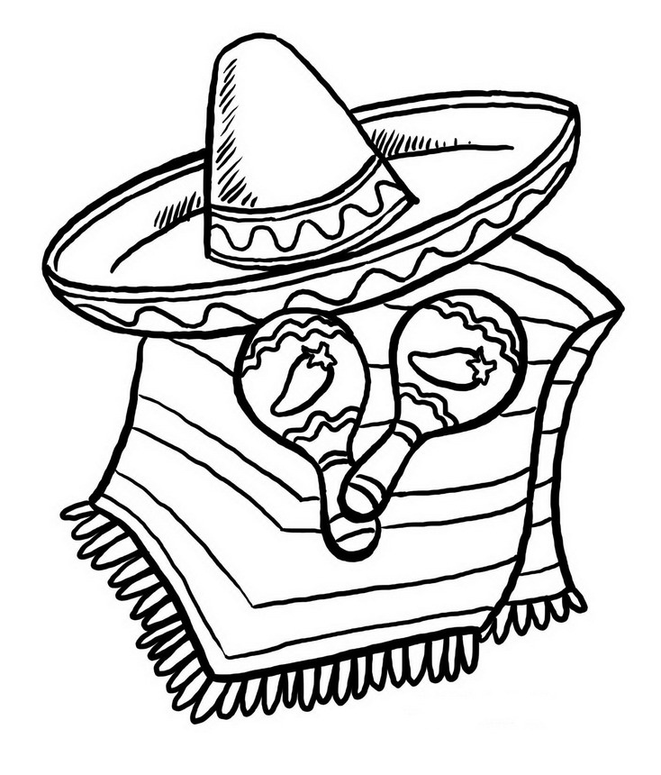 Sombrero Mariachi Dibujo Imagui