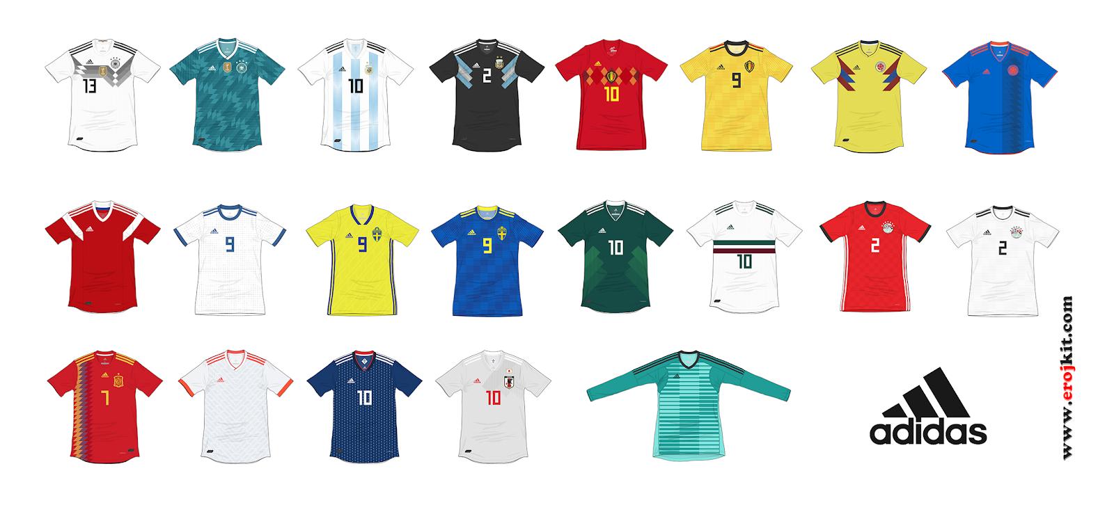 Camisas da Copa do Mundo 2018 832fd4e0bd503
