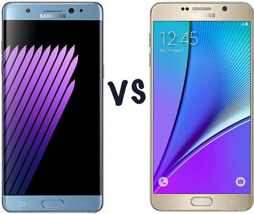 Membandingkan Samsung Galaxy Note 7 vs. Samsung Galaxy Note 5