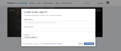 Facebook Login Welcome