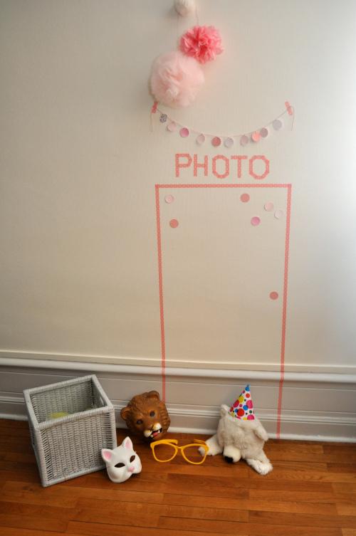 Idea Fotomatón para niños