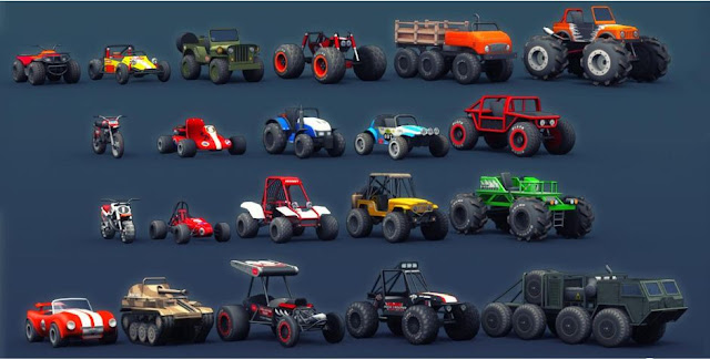 Mini Racing Adventures Mod Apk Unlimited Coins