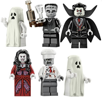 Lego Haunted House Monster Fighters Mini-figures
