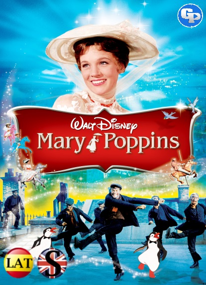 Mary Poppins (1964) HD 720P LATINO/INGLES