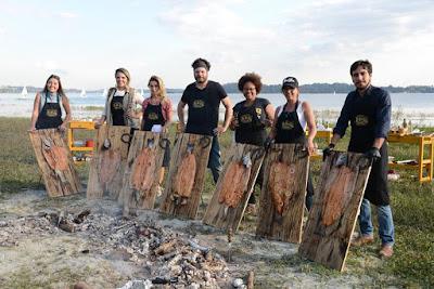 Participantes na repescagem (Foto: João Raposo)
