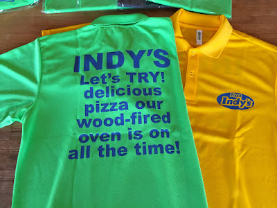 プリントワークでは販売用オリジナルTシャツプリント致します。