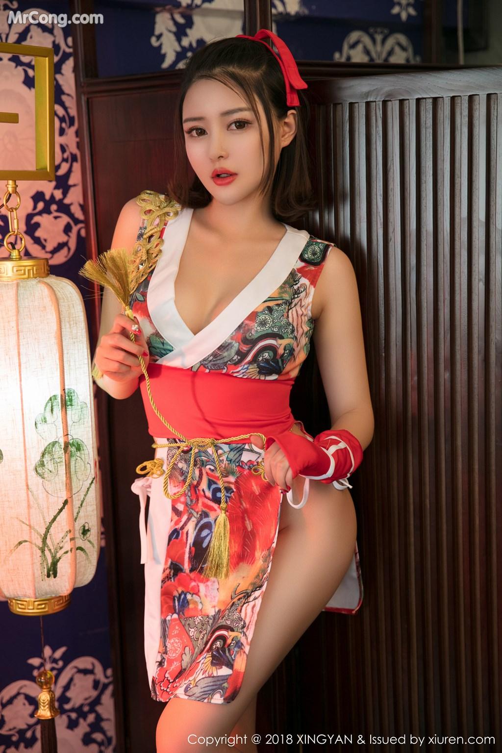 Image XingYan-Vol.028-MrCong.com-008 in post XingYan Vol.028: Người mẫu 廿十 (41 ảnh)