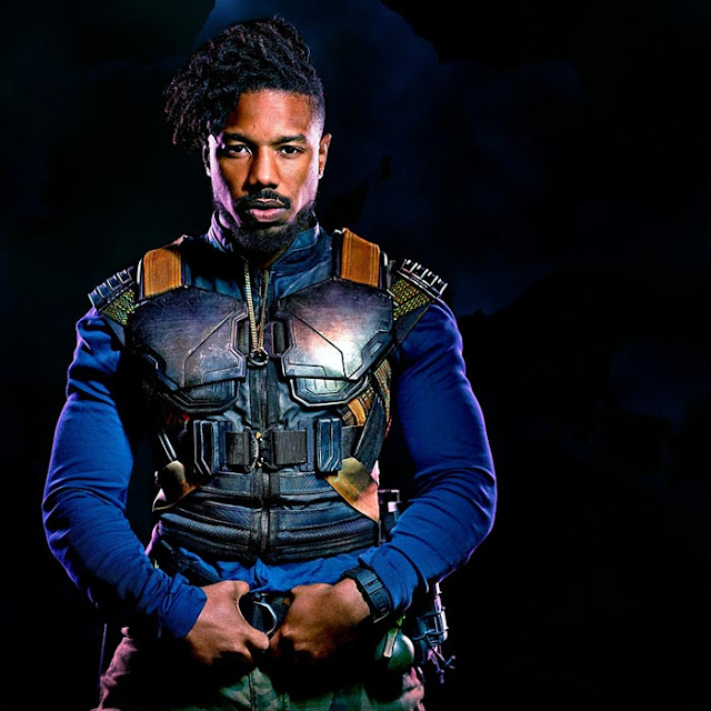 Black Panther - Killmonger Wallpaper Engine
