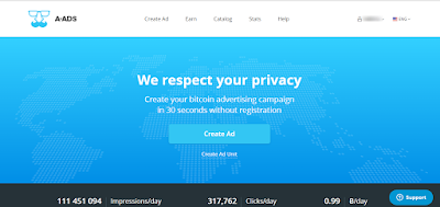 Berburu bitcoin lewat anonymous ads