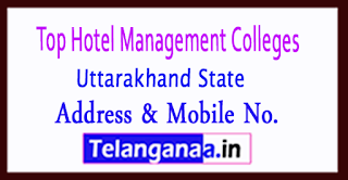 Top Hotel Management Colleges in Uttarakhand