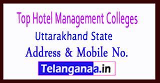 Top Hotel Management Colleges in Uttarakhand
