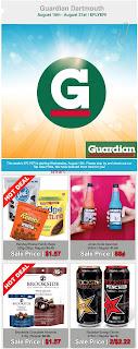 Guardian Drugs - Pharmacy Flyer August 16 - 22, 2018